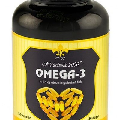 omega 3 fettförbränning
