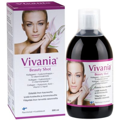 Vivania Beauty Shot mot rynkor 500 ml